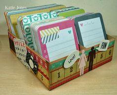 Project Life Card Box