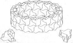 Masonry Design: Design Flexibility of triangular block Modular Design, 3d Design, House Design, Modular Structure, Concrete Structure, Mathematics Geometry, Triangular Pattern, Design System, Surface Pattern