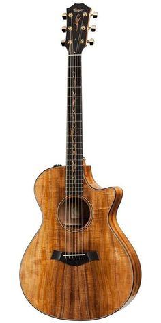 Taylor K22CE Koa Series Grand Concert Acoustic Electric Guitar