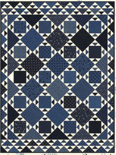 Great Lakes Patchwork quilt pattern by Minick and Simpson - Download
