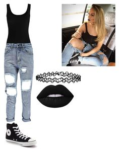"""""""#famous #littelmix"""" by multifandom01 ❤ liked on Polyvore featuring Twenty, Converse, Accessorize and Lime Crime"""