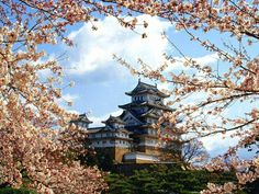 Himeji Castle is a hilltop Japanese castle complex located in Himeji, in Hyōgo Prefecture, Japan. The castle is regarded as the finest s. Château De Himeji, Yokohama, The Places Youll Go, Places To See, Himeji Castle, Japanese Castle, Japanese Temple, Go To Japan, Japan Travel