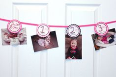 Lil Angel Photo Banner 12 months photo banner by JRCreativeDesigns, $8.99