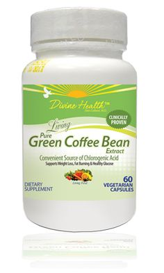 New Item, Living Pure Green Coffee Bean extract. Help yourself lose weight!