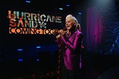 Celebrities perform to help victims of Superstorm #Sandy: http://entertainment.nbcnews.com/_news/2012/11/02/14888295-stars-perform-to-help-victims-of-sandy?lite (Photo: NBC)
