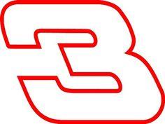 Dale Earnhardt 3 Nascar Auto Car Decal Sticker 10X7.5 - http://www.autosportsart.com/dale-earnhardt-3-nascar-auto-car-decal-sticker-10x7-5 - http://ecx.images-amazon.com/images/I/415-CRDamLL.jpg