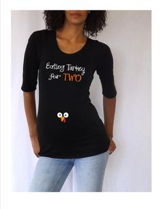eb05339d Thanksgiving Maternity Shirt Eating turkey by DJammarMaternity Pregnancy  Shirts, Maternity Shirts, Maternity Fashion,
