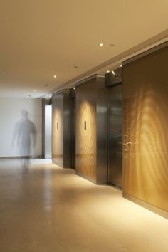 Paul Nulty Lighting Design - 105 Wigmore Street, London - Commercial Lobby Space Lifts