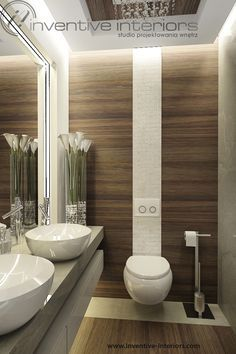 Bathroom ideas will help you to enjoy the area around your bathroom remodel and bathroom tile ideas. Find the best bathroom vanity for 2018 and transform your bathroom inspiration space! Contemporary Bathrooms, Modern Bathroom Design, Bathroom Interior Design, Contemporary Design, Bathroom Layout, Small Bathroom, Bathroom Ideas, Big Bathrooms, Bathroom Storage