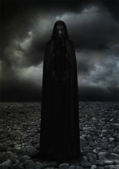 The Dark Goddess...  Crone energy: The period of the Waning Moon is an excellent time for spells of banishment and release, Tap into the powerful energy of The Crone to carve away negative or unwanted aspects of yourself such as addictions or attachments that weigh down your soul :)