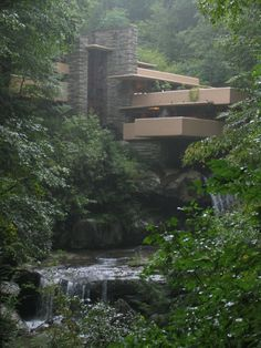 The Ultimate Frank Lloyd Wright home - Fallingwater