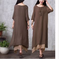 👛loose maxi 👛 Superb quality. Fully lined, cut is perfect for that almost Asymmetrical fall. So sexy!! So chic!! Dresses