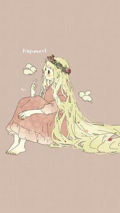 Cartoon Kunst, Cartoon Art, Disney Kunst, Disney Art, Anime Girl Cute, Anime Art Girl, Pretty Art, Cute Art, Kawaii Anime
