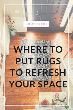 These ideas will show where you can put rugs in your home for your home decor. Using Rugs in the bedrooms, living rooms and other rooms in your home can be a great enhancement to your home decor Dining Room Inspiration, Home Decor Inspiration, Design Inspiration, Decor Ideas, Gift Ideas, Learn Interior Design, Rug Placement, Traditional Bedroom Decor, Moving Checklist