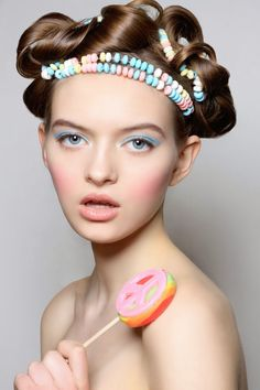 fashionforwardbeauty.com: Candy Sweet- Candy Inspired Sugary Shoot