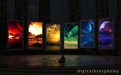 Portals (2012) by Digital Blasphemy   (Best wallpaper site ever!)