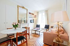Rent this apartment in Paris for your destination wedding ... or just because. We want to go!