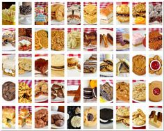 Get a head start on your Christmas baking with these 50 cookie recipe suggestions perfect for the Holiday freezer. Follow our Pinterest cookie board for an additional 100 recipe suggestions. It's a virtual free online cookie cookbook!
