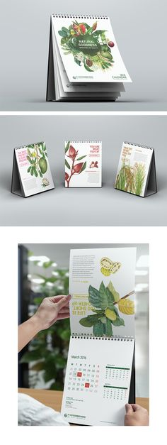 Phytochemindo Calendar 2016 on Behance