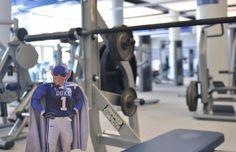 Flat Blue Devil bulks up at Wilson Recreation Center