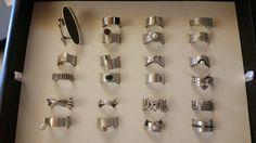 Auswahl an handgefertigten Ringen aus dem trauringwerk.com #handmade #goldsmith #vaihingenenz #goldschmied #handarbeit #wedding #ring #juwels #brillant #pearls