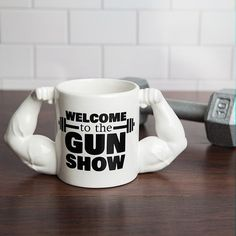Lean Muscle Gym Coffee Mug