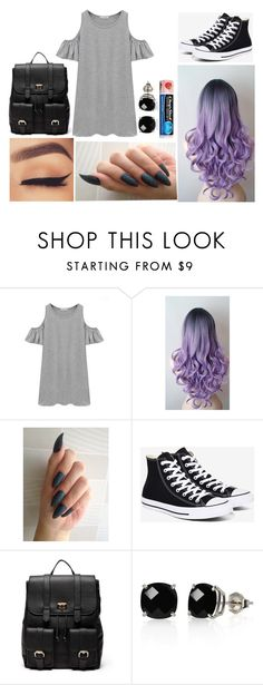 """""""Kayla: October 20, 2016"""" by disneyfreaks39 ❤ liked on Polyvore featuring Chicnova Fashion, Converse, Sole Society, Chapstick and Belk & Co."""
