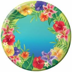 Hibiscus Heat 7-inch Paper Plates 25 Per Pack by Creative Converting. $9.32. Creative Converting is a leading manufacturer and distributor of disposable tableware including high-fashion paper napkins plates cups and tablecovers in a variety of solid colors and designs appropriate for virtually any event