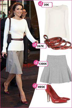 Consigue el look de Rania de Jordania - Noticias Consigue el look de... - MODA