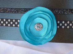 Handmade Fabric Flower HeadbandLittle Girls/Baby by PrettyColleen, gift ideas charms rugs Fabric Flower Headbands, Fabric Flowers, Diy Crafts, Handmade Crafts, Handmade Rugs, Inspirational Gifts, Gift Bags, Diy Fashion, Little Girls