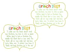 Grinch Dust :)
