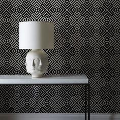 The Hypnotist Mono Wallpaper   $155.00 Barbara Hulanicki