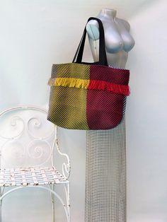extra large tote bag large striped purse weekender handbag