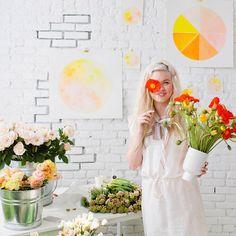 Image of designlovefest + moon canyon summer floral workshop #1
