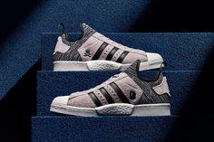 A First Look at the BAPE x NEIGHBORHOOD x adidas Originals Superstar BOOST