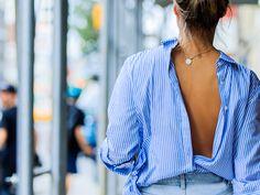 Blau-weiße Streifen à la Céline: Das ist der frischeste Trend der Saison!
