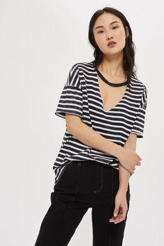 Choker Acid Stripe T-Shirt