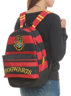 Harry Potter Hogwarts Backpack.  NEED.
