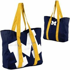Michigan Wolverines Big Logo Tote