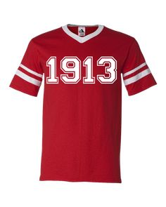 cf51d2039 Delta Sigma Theta 1913 Stripe T-Shirt. Delta Sigma Theta ApparelKappa ...