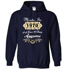 Awesome Born In 1970 Limited Edition Women Tee