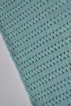 9 Tips for knitting – By Zazok Double Crochet, Single Crochet, Crochet Home, Knit Crochet, Crochet Stitches, Crochet Patterns, Slip Stitch, Crochet Scarves, Baby Blanket Crochet