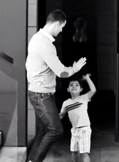 Cristiano Ronaldo and CR Jr. get more only on http://freefacebookcovers.net www.footballvideopicture.com