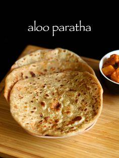 aloo paratha recipe   aloo ka paratha recipe   alu paratha recipe - http://hebbarskitchen.com/aloo-paratha-recipe-alu-paratha-recipe/