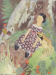 In Hitty: Her First Hundred Years , Dorothy Lathrop drew the delightful illustrations. Many of the illustrations depict Hitty in dresses tha. Peg Wooden Doll, Photo Elements, Real Doll, White Caps, Little Flowers, Everyday Dresses, Dance Class, Bible Lessons, Little Red