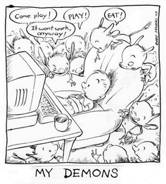 Chris Sanders  My Demons  http://kiskaloo.com/