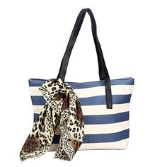 Women Handbag, METFIT 1PC Fashion Big Striped Plaid Shoulder Bags Clutches 2017 ** You can find more details by visiting the image link.