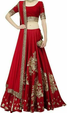 Are you Looking for Buy Indian Lehenga Choli Online Shopping ? We have Largest & latest Collection of Designer Indian Lehenga Choli which is available now at Best Discounted Prices. Designer Bridal Lehenga, Indian Bridal Lehenga, Indian Bridal Wear, Indian Wedding Outfits, Indian Outfits, Red Wedding, Eid Outfits, Bridal Outfits, Bridal Dresses