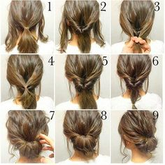 So simple so beautiful for more ideas check out fab feed 10 Easy Tutorials to Make Wedding Hair So simple so beautiful for more ideas check out fab feed