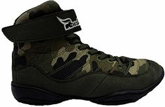 Rasslin' Youth Camouflage Wrestling Shoes ** Click image for more details.